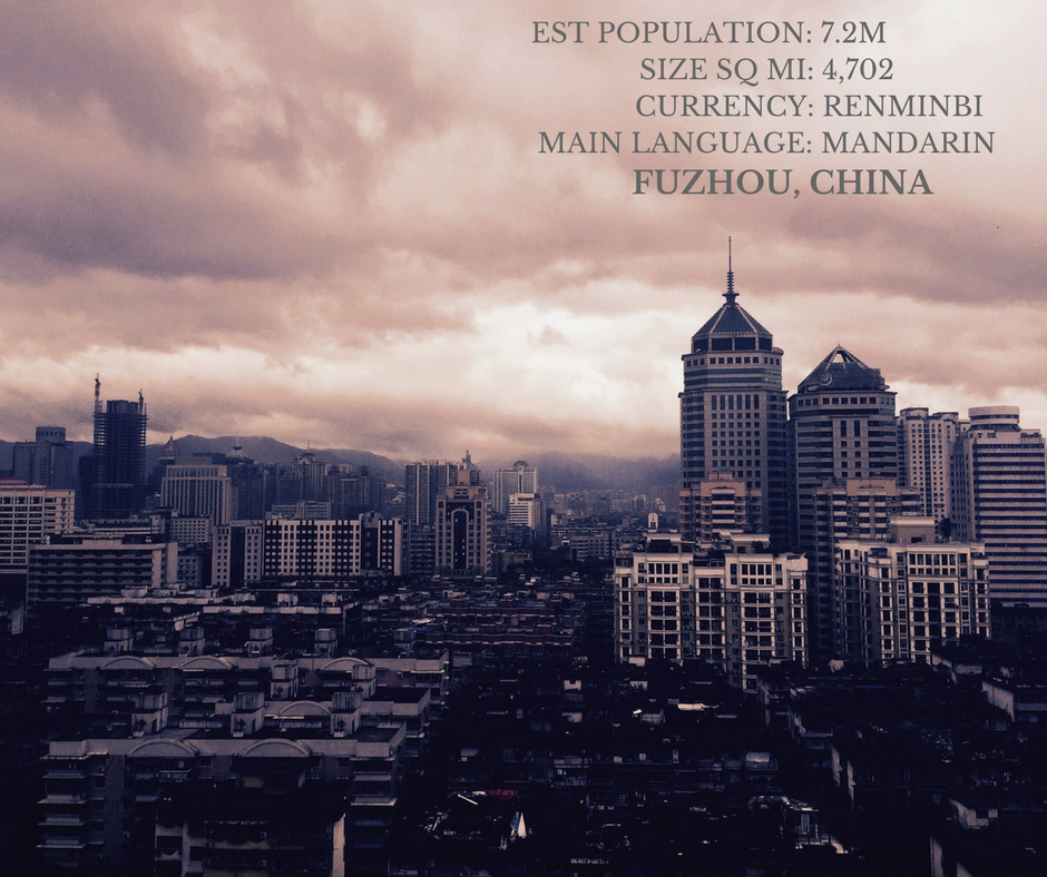 Fuzhou, China: Standing Out
